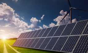 Energy efficiency measures - Solar energy and wind power in the vast grassland, new energy to solve future energy shortages