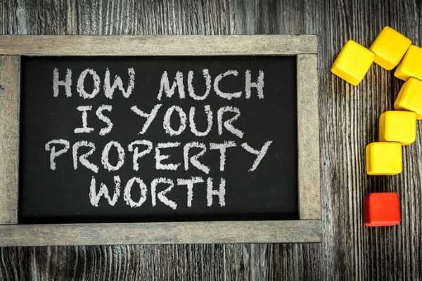 how to find out how much your property is worth