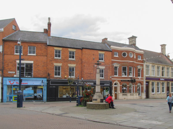 Melton Mowbray market square