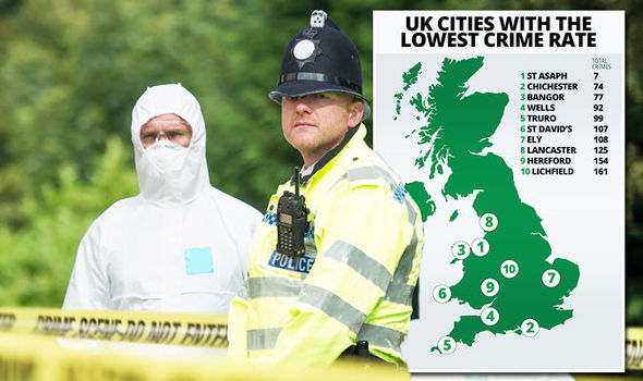 UK crime map