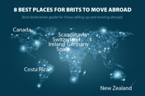 Best places for Brits to live abroad