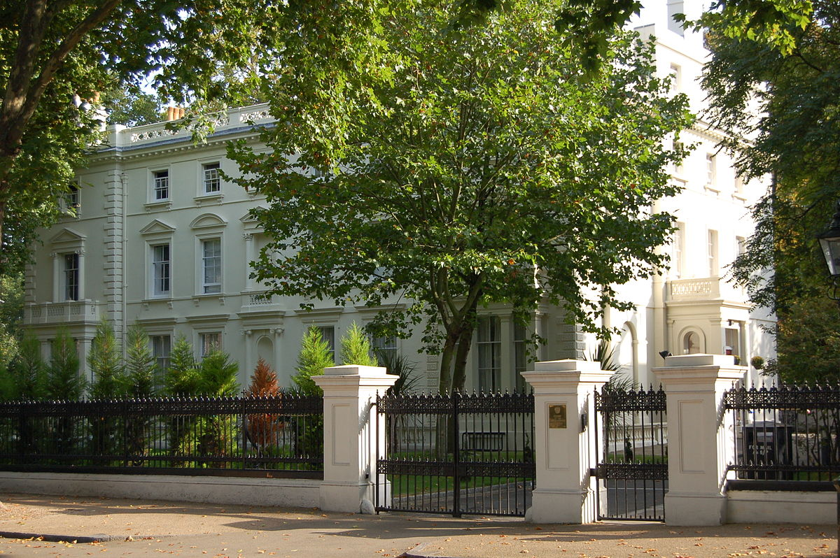 Russian Embassy Kensington Palace Gardens London