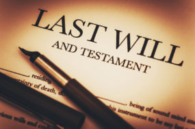 What happens to a home when the owner dies without a Will?
